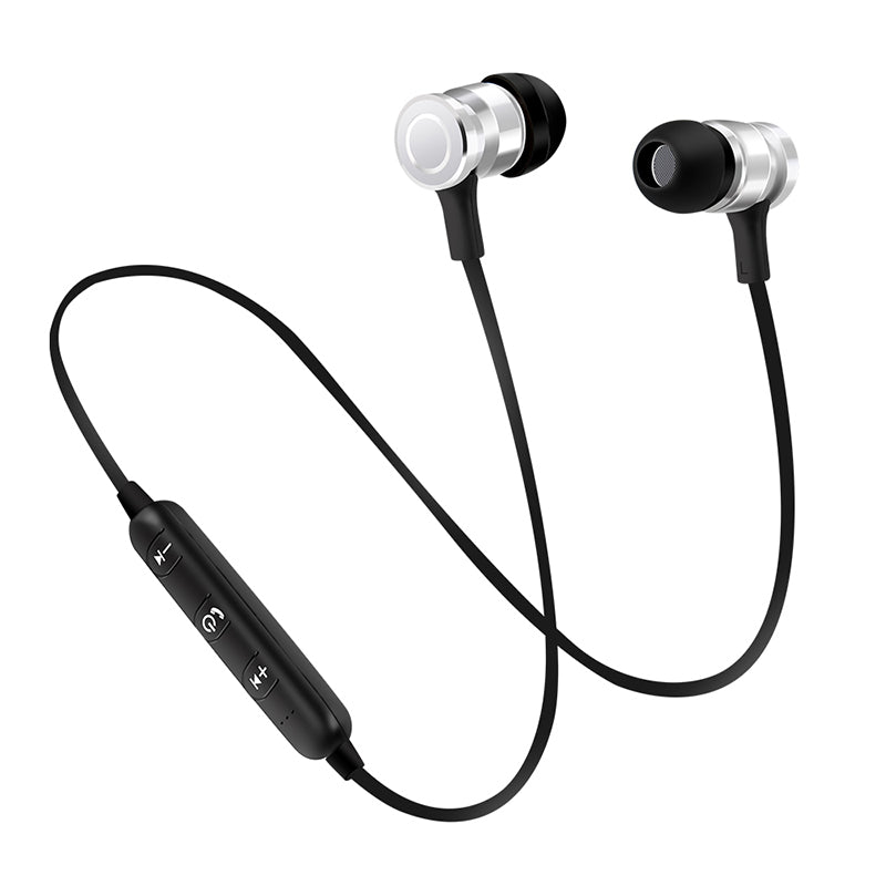 Costbuys  Portable Wireless Bluetooth Earphone Mini Earbuds Stereo Bass Magnet Music Handsfree Headphone for smartphone NEW - Si