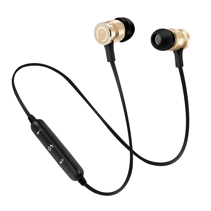 Costbuys  Portable Wireless Bluetooth Earphone Mini Earbuds Stereo Bass Magnet Music Handsfree Headphone for smartphone NEW - Go