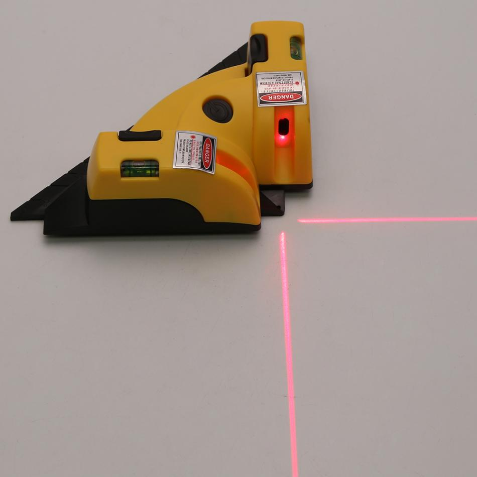 Costbuys  Pro Vertical Horizontal nivel laser level Line Projection Right Angle 90 degree Alignment Layout Tool  Measuring Tools
