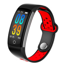 Q6 Smart Watch Clock Men Women Sport Bluetooth Smart Wristband With Blood Heart Rate IP68 Waterproof Smartwatch For Android IOS