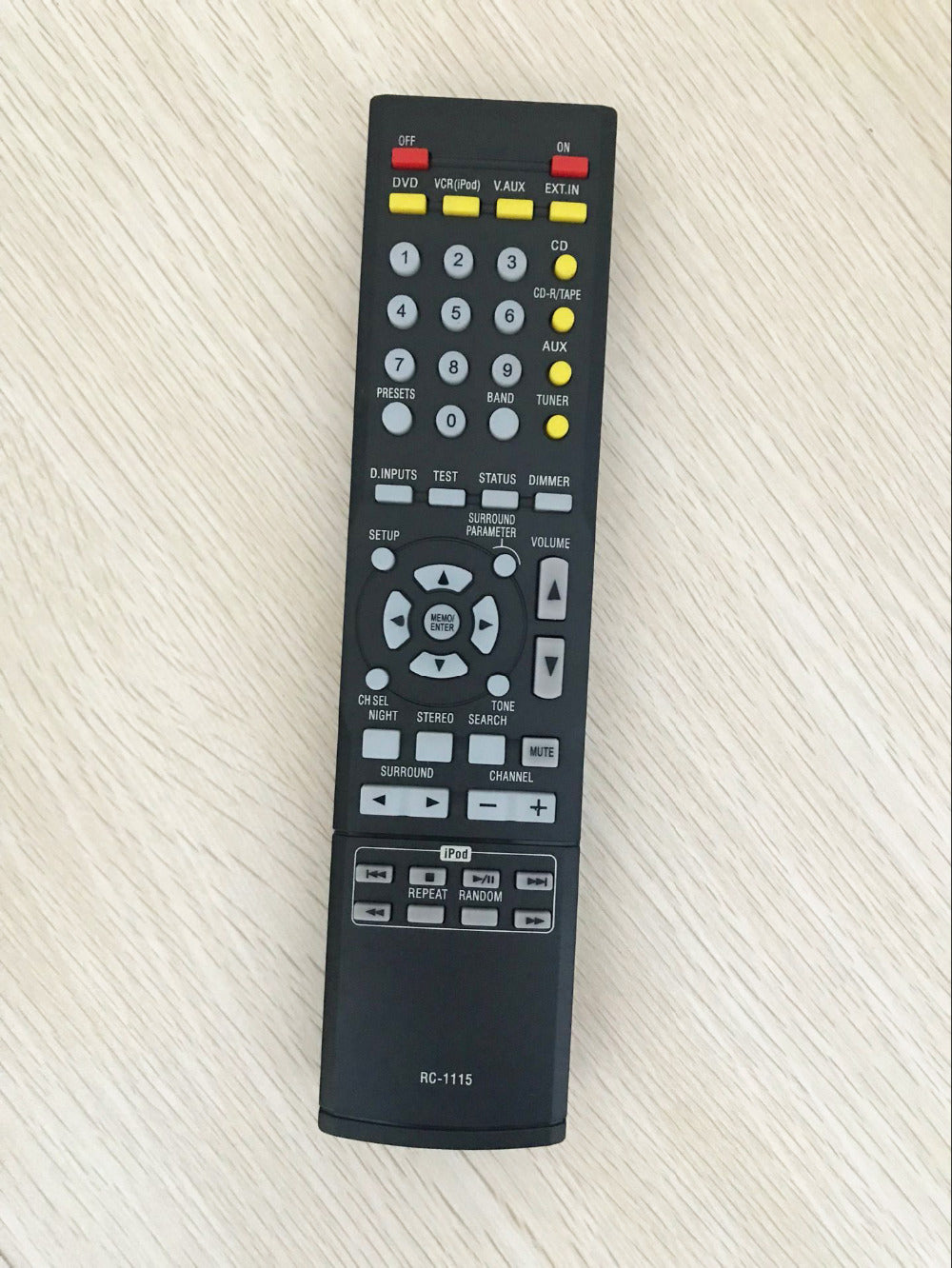 Costbuys  RC-1115 Replacement Remote Control for Denon AVR-1312 AVR-1612 AVR-1311 AVR-391 AVR-390 AV System Home Theater Receive