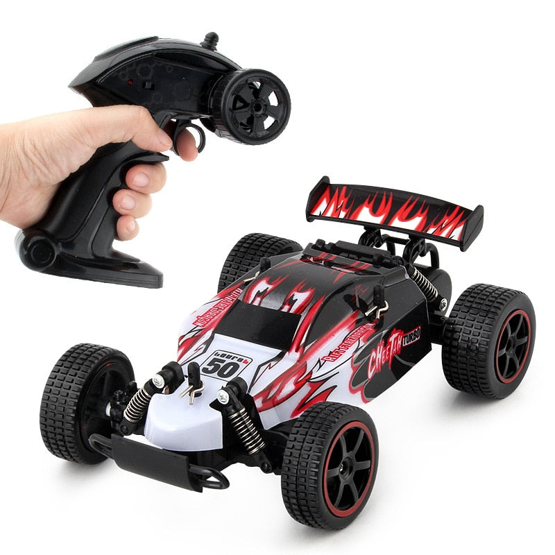 Costbuys  RC Car USB Recharging High Speed Remote Control Car Boys Toys Driving Vehicle Mini Racing Car toys for Children - red