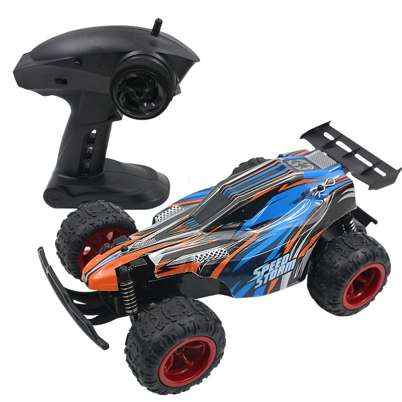RC Car 2.4GHZ 20KMH High Speed Classic Toys Hobby 2WD Two-Wheel Drive 1:20 Scale Radio Remote Control Model Off-Road Vehicle Toy