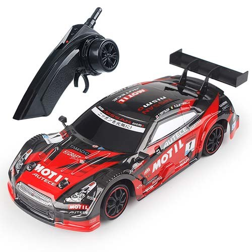 Costbuys  RC Car 4WD Drift Racing Car Championship 2.4G Off Road Rockstar Radio Remote Control Vehicle Electronic Hobby Toys - G