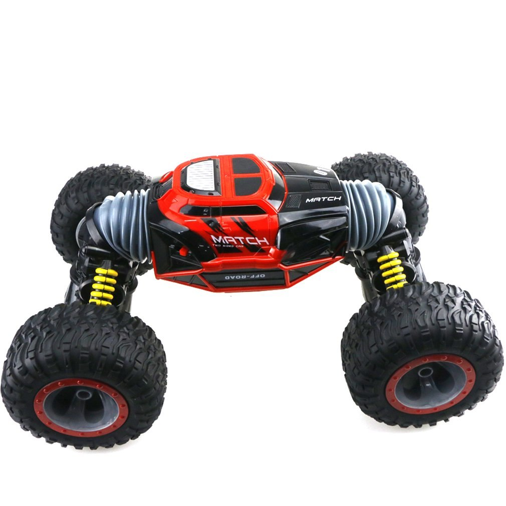 Costbuys  Car 4WD Truck Scale Double-sided 2.4ghz One Key Transformation All-terrain Vehicle Varanid Climbing Car Remote control