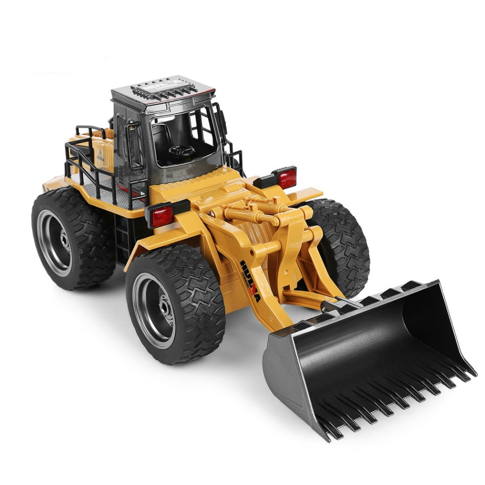 Costbuys  Car 6CH 1/14 Trucks Metal Bulldozer Charging RTR Remote Control Truck Construction Vehicle Cars For Kids Toys Gifts