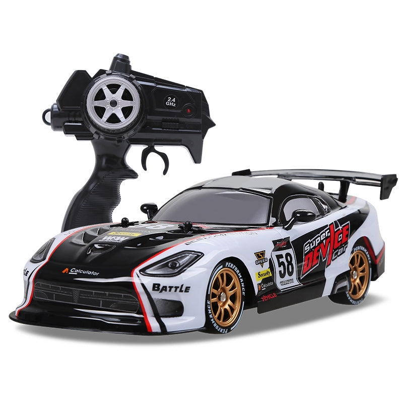 Costbuys  RC Car For GTR/Dodge Viper 4WD Drift Racing Championship 2.4G Off Road Rockster Remote Control Vehicle Electronic Hobb
