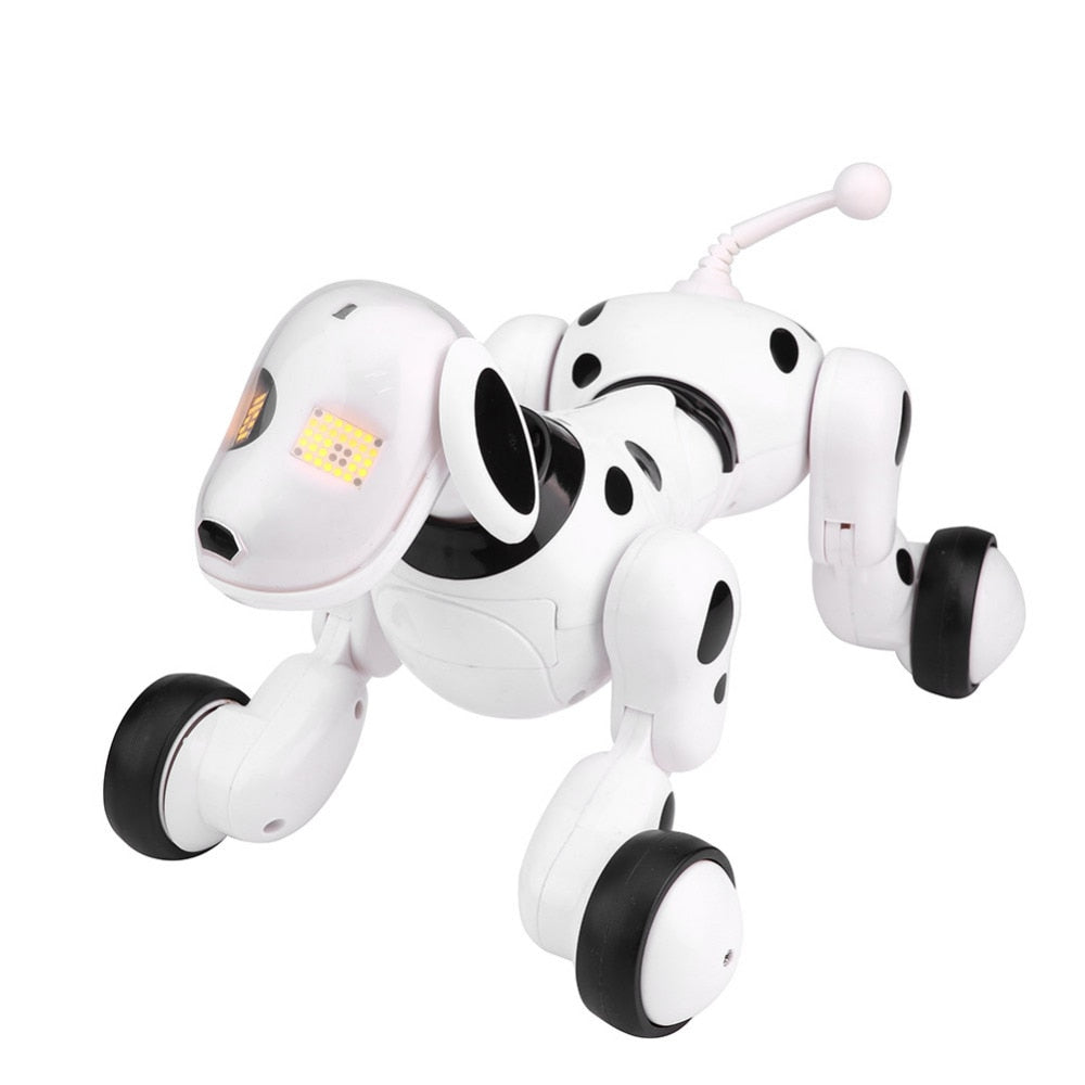RC Dog Toy Smart Sing Dance Walking Infrared Remote Control RC Dog Robot Kids Boys Toy Educational Learning Toy Gifts