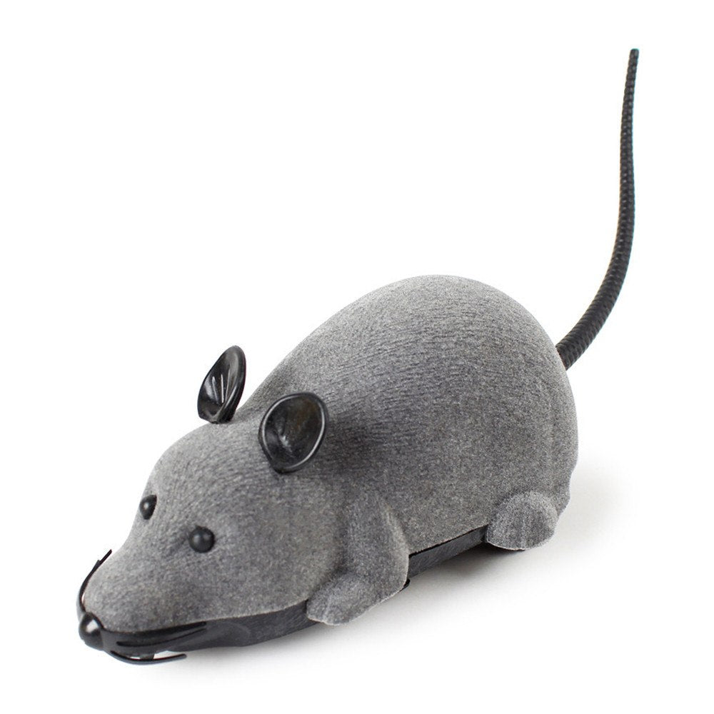 Costbuys  RC Funny Wireless Electronic Remote Control Mouse Rat Pet Toy for Cats Funny RC Electronic Mouse Dog Pet Toy - China