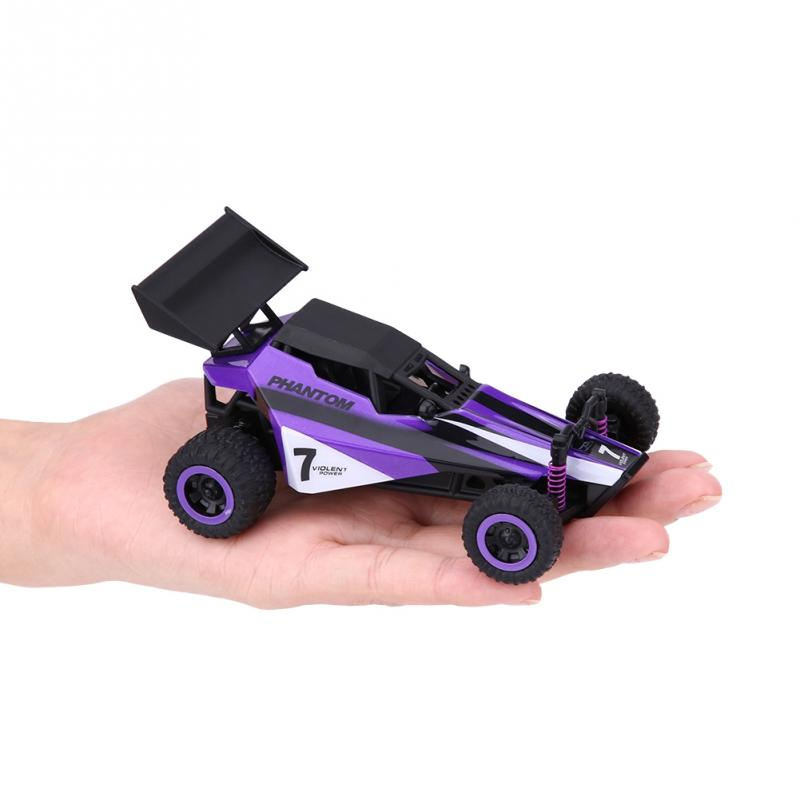 RC car 2.4GHz Remote Control 4 Wheels Drive Racing Car Crawler Vehicle 1:32 RC Model Toy esistant to collision