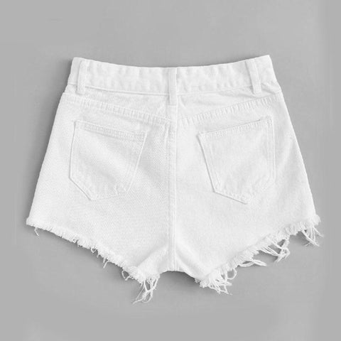 New Woman Fashion Shorts Sexy Black Lace Hollow Summer Woman Short Pants Solid Color Low Waist Sexy Short Pants