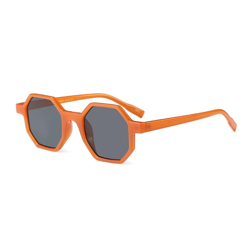 Octagon Sunglasses Women Classic Design Small Frame Polygon High Quality Glasses Eyewear Square