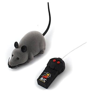 Costbuys  Rat RC Toy PeachFYE RC Funny Wireless Electronic Remote Control Mouse Rat Pet Toy For Cats Dogs Pets Kids Novelty Gift