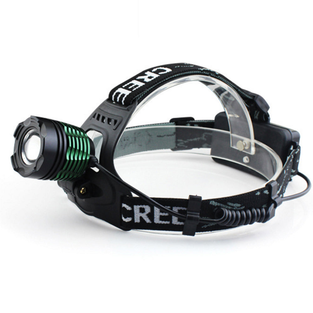 Costbuys  Rechargeable CREE XML T6 2000 Lumens Zoom Head Lamp LED Headlamp + 18650 Battery 4200mAh LED Headlight Flashlight Lant
