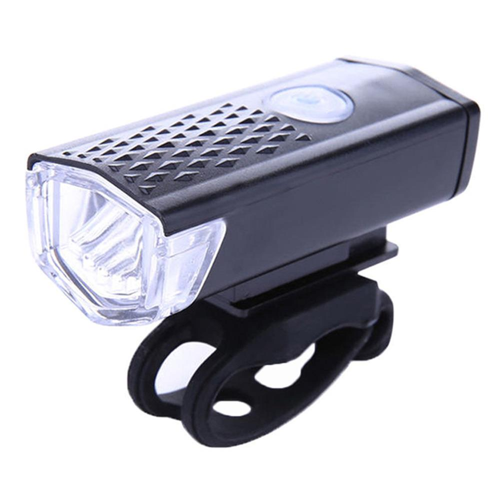Costbuys  Rechargeable USB LED Bicycle Bike Flashlight Lamp MTB Front Bicycle Cycling Light Headlight Headlamp Bike Bycicle Ligh