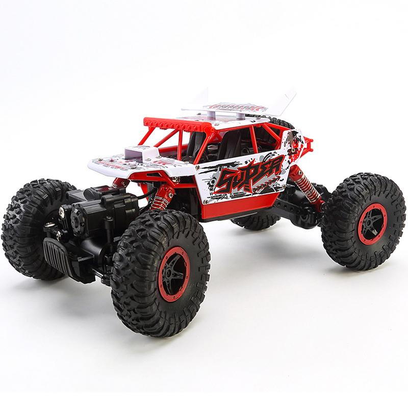 Costbuys  Remote Control Car Toy For Children Off-road Four-wheel Drive Mountain Bike Rechargeable Electric Car Electric Racing
