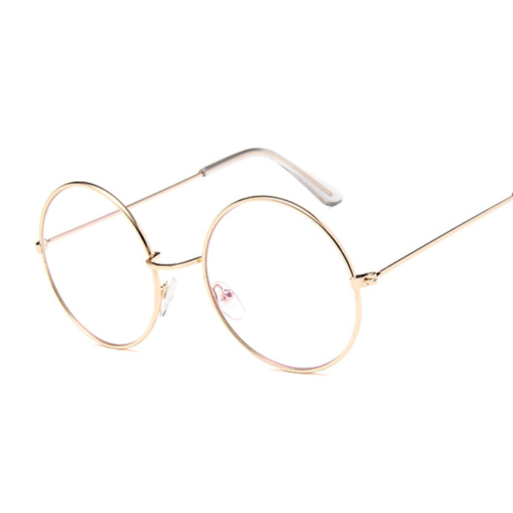 Costbuys  Retro Glasses Round Men Women Optical Frame Transparent Glasses Frames with Clear Vintage Oval Glass Male Female Spect