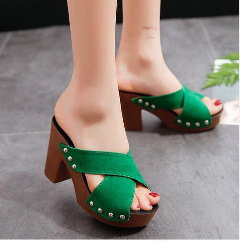 Spring Fashion Brand Patent Leather Women Pumps Pointed Lace High Heels Shoes Black Red High-heeled Shoes Plus Size 43