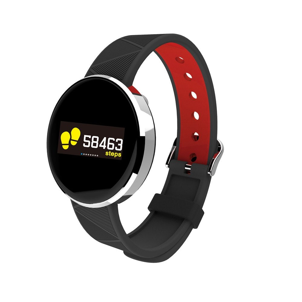 Costbuys  S12 Heart Rate Blood Pressure Smart Watch For Android IOS Fitness Tracker Sport Smart Watch Women Men Smart Watches re