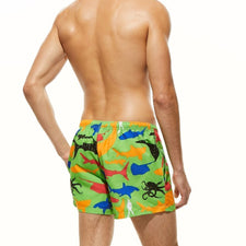 Beach Shorts Mens Board Shorts Men Swim Short Swimwear Boardshorts Surf Short Bermuda Sea Suit Beachwear No Liner
