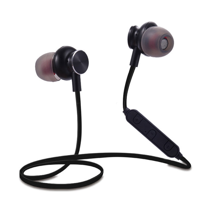 Costbuys  Bass Bluetooth Earphone Wireless Headset Headphones With Mic Stereo Magnetic Blutooth Earphones For Xiaomi Iphone - Bl