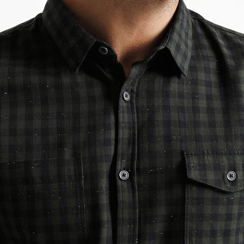 100% Cotton Spring Long Sleeve Plaid Flannel Men Shirt Dress Shirts Slim Fit Mens Casual Shirts Camisa