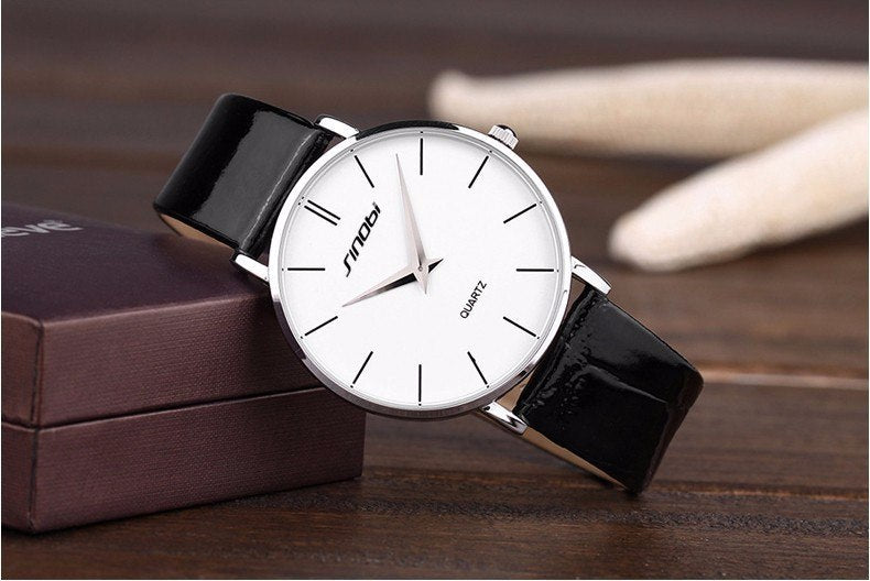 Costbuys  Ultra Thin Watch Men Watch Fashion Men's Watch Waterproof Mens Watches Clock erkek kol saati relojes hombre Mens/Women