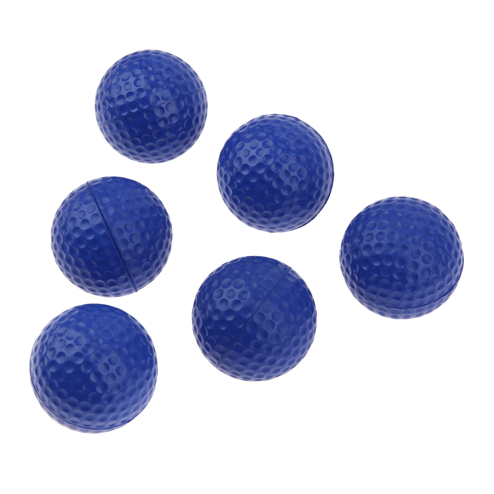 Costbuys  20Pcs Light Foam Golf Balls for Indoor Outdoor Golf Practice Balls PU Material Sport Training Sponge Golf Balls 6 Colo