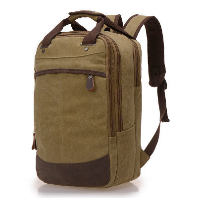 Costbuys  Large Capacity Travel Backpack Multifunction Mens Canvas Backpacks Women Mochila Casual Daily Backpack Daypack School