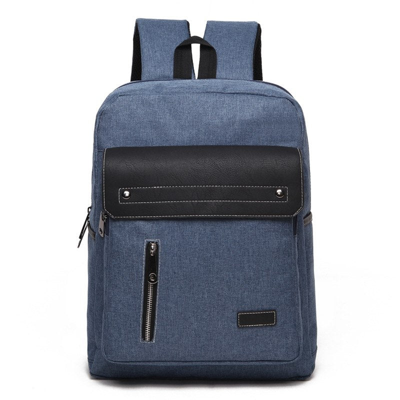 Costbuys  Men Canvas Laptop Backpack High Quality Business Backpack Women School Shoulder Bag  Rucksack Waterproof Travel Back P