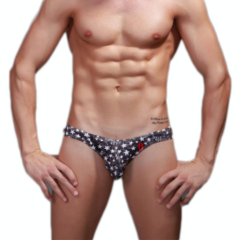 2pcs New Cottom Breathable Mens Underwear Briefs Brand men Shorts Sexy Gay Underwear Bikini Penis Pouch M-XXL