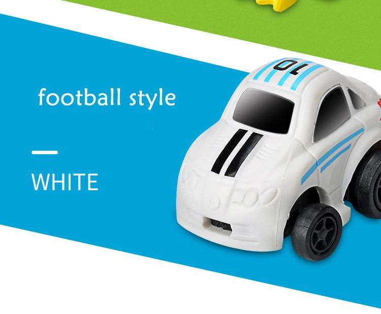 Costbuys  Shrinkable 2.4 G Mini Football And Basketball Remote Control Mini Car Model Toys For  Children Gifts Yellow And White