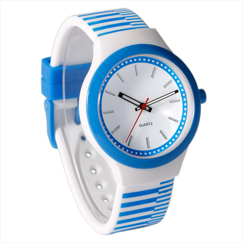 Costbuys  Simple 3ATM Water Resistant Waterproof Hot Student Sport Analog Wrist Watch Silicone Band Strap Women Minimalist Gift
