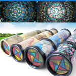 Small and medium cute rotation classic colorful kaleidoscope children's toys for baby children gifts