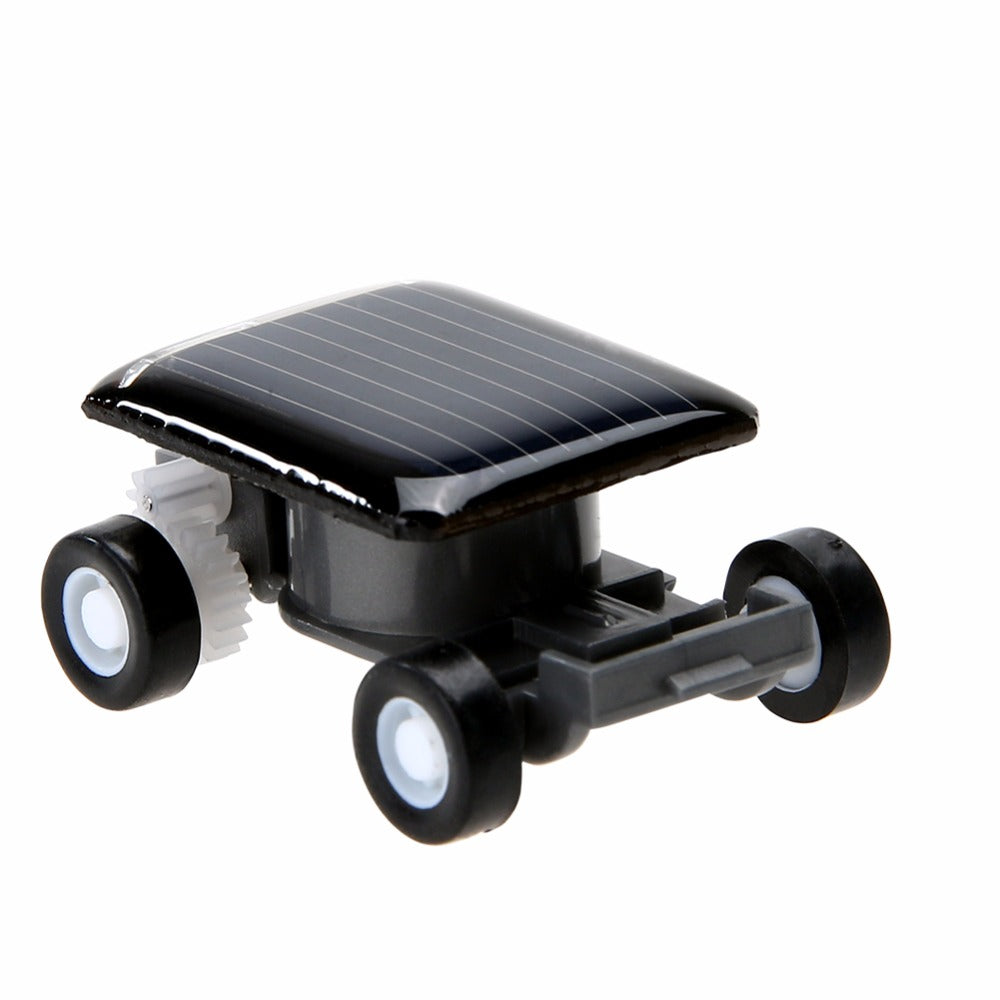 Costbuys  Smallest Mini Car Solar Powered Toy Car New Creative Children Solar Toy Solar Power Mini Toy Educational Gadget Childr