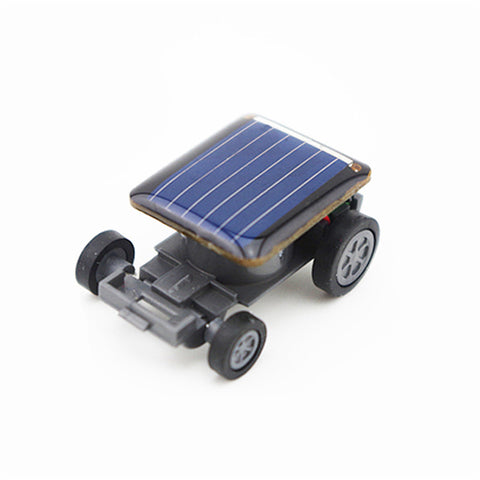 # 1 Set Mini Solar Powered Toy DIY Car Kit Children Educational Gadget Hobby Funny