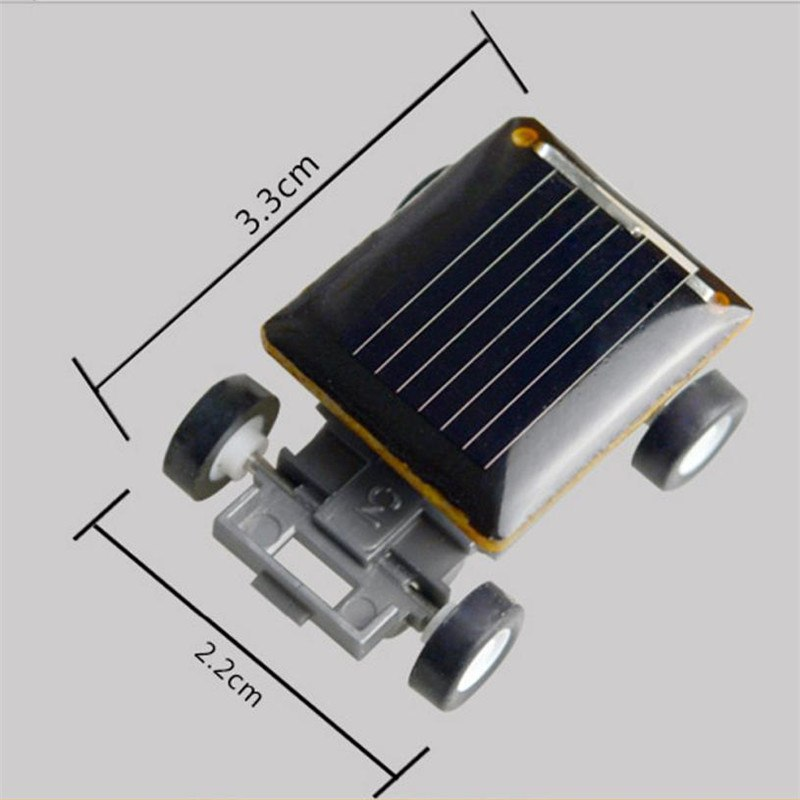 Costbuys  Smallest Solar Power Mini Toy Car Racer Powered Spider Grasshopper Cockroach  Educational Solar Powered Toy 15 - A