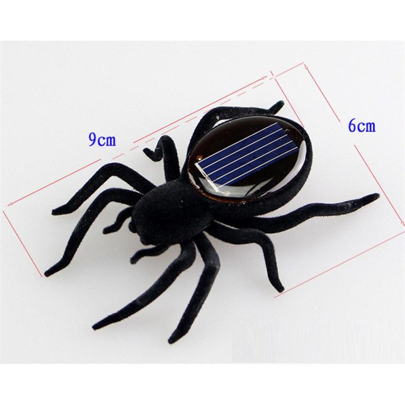 Costbuys  Smallest Solar Power Mini Toy Car Racer Powered Spider Grasshopper Cockroach  Educational Solar Powered Toy 15 - B