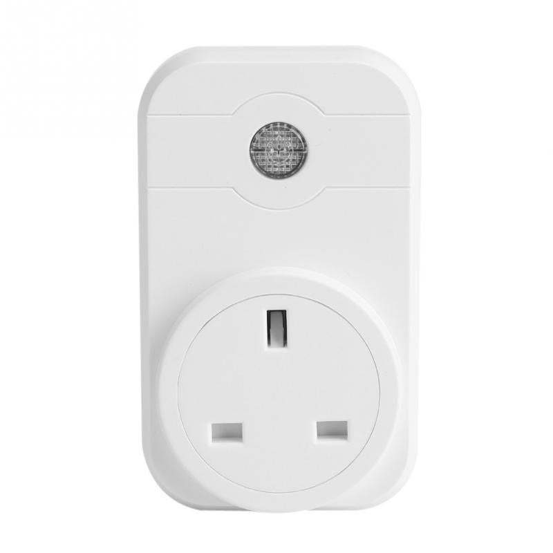 Costbuys  Smart home 16A+timer EU Wifi Power Socket Plug Outlet APP Wireless Controls Cell Phone Remote Control Timer Plug Socke