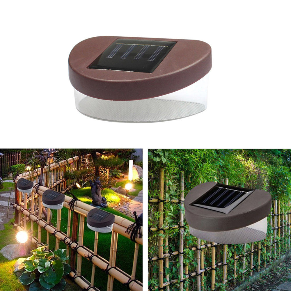 Costbuys  Solar Path Lamp Light New Design Outdoor Solar Powered LED Path Wall Landscape Mount Light Lamp Garden Fence Home Gard