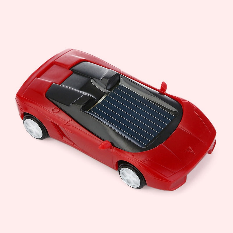 Costbuys  Solar Power Energy Car Toys Kids Children Sports Car Birthday Gifts Toy Mini