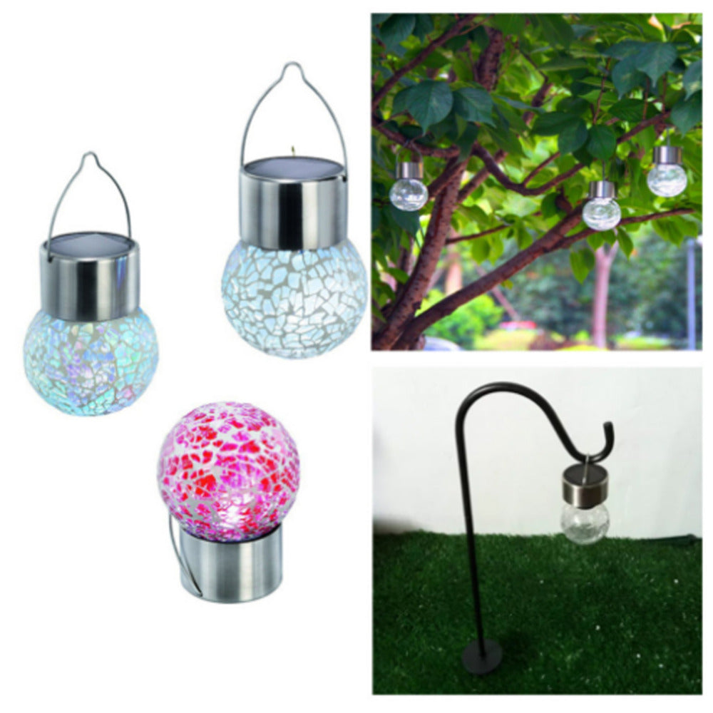 Costbuys  Solar Powered Garden Light LED Lawn lamp RGB White Waterproof Landscape lamps Home Yard Pathway Outdoor Lighting Decor