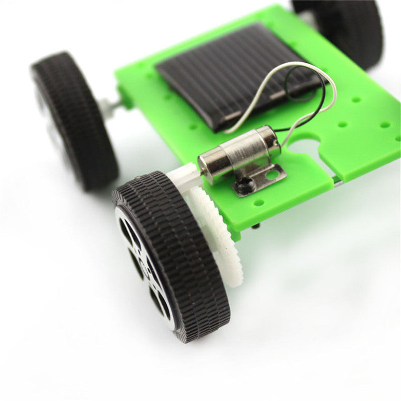 Costbuys  Solar Toys For Kids 1 Set Mini Powered Toy DIY Car Kit Children Educational Gadget Hobby Funny - As show