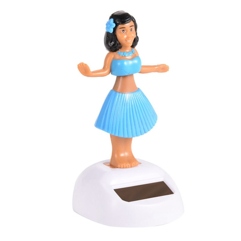 Costbuys  Solar Toys Powered Dancing Girl Swinging Bobble Toy Gift For Car Decoration Novelty Happy Dancing Solar Girls Toys For