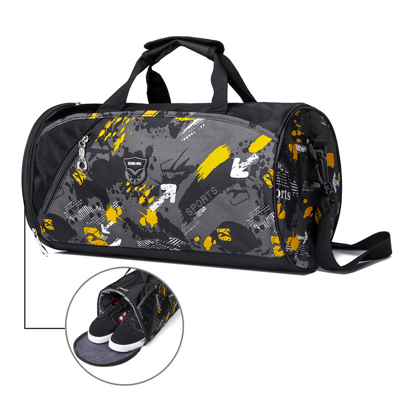Costbuys  Sports Nylon Women Gym Bag Professional Outdoor Men and Women Gym Handbag Female Training Shoulder Bag Gym Bag for Sho