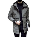 Spring and Autumn Men's Jacket Fashion Hooded Jackets Windbreaker Men Casual Jacket Coats Outerwear Man Coat Jaquet