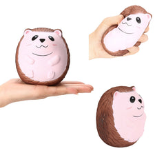 Squishy Cute Hedgehog Scented Charm Slow Rising Squeeze Stress Reliever Toy Decompression Rebound Children's Toys New