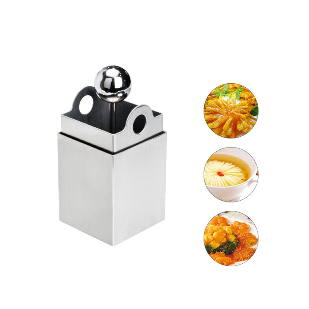 Costbuys  Stainless Steel Chrysanthemum Tofu Knife Mold Creative Tofu Maker Press Mold Vince Shredder Kitchen Tools Cooking Tool