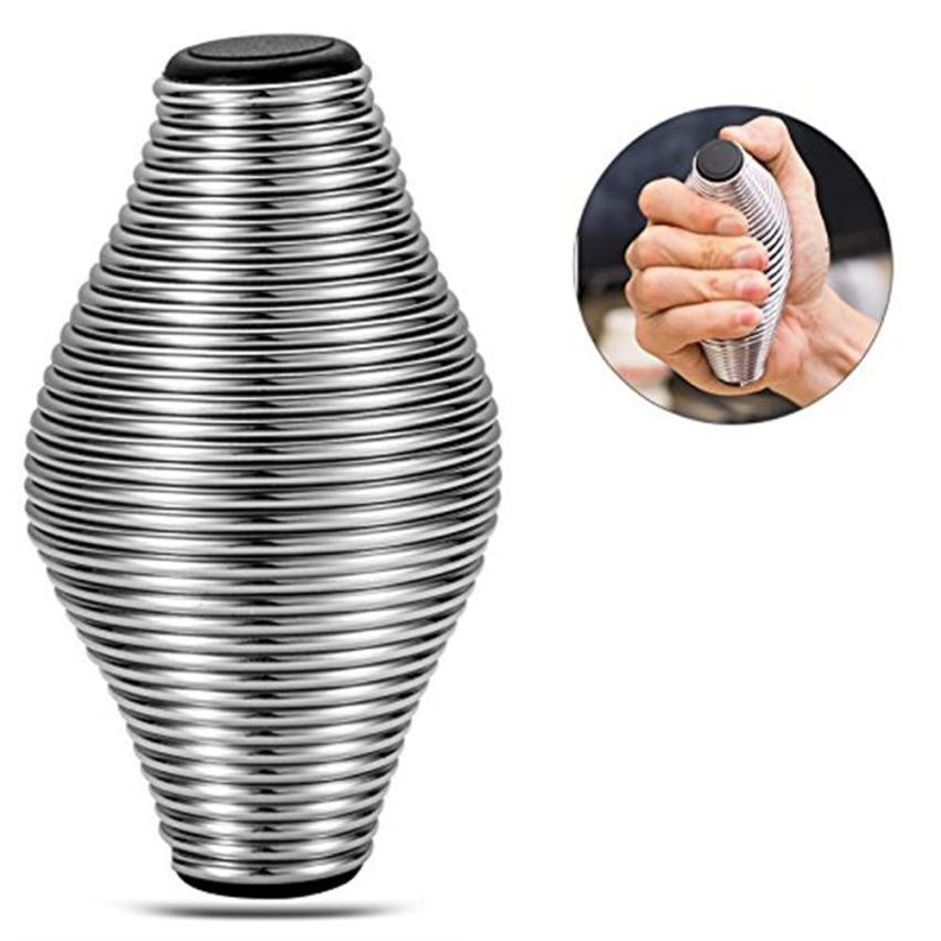 Costbuys  Stress Relief Sports Hand Grip Spring Grips Finger Exercise Metal Grip Toys Stress Reliver Antistress Toy For Kids Adu