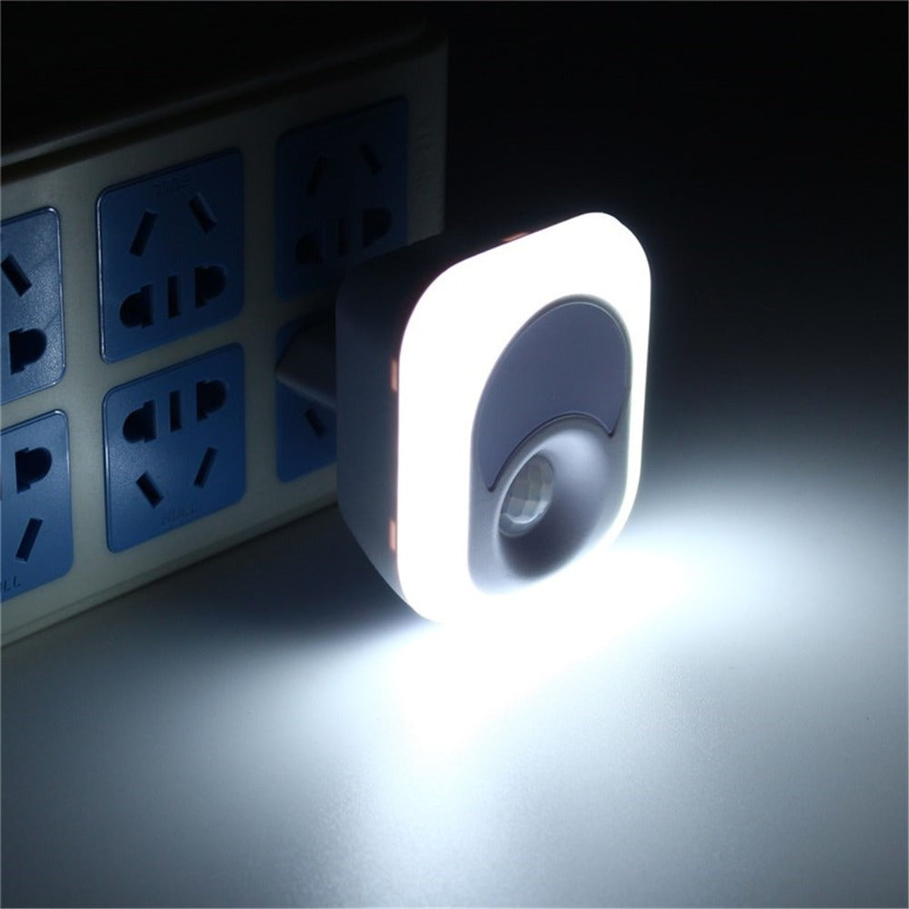 Costbuys  Super Bright Infrared Motion/Light Sensor Wall Lamp Gift 26 Bulbs Emergency Night Light Corridor Washroom EU US Plug I
